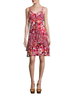 Rochie scurtă MICHAEL KORS COLLECTION Floral