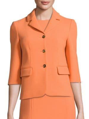 Notched Wool Jacket