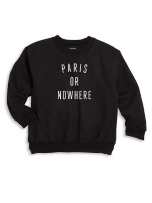 Kid's Paris Or Nowhere Sweatshirt