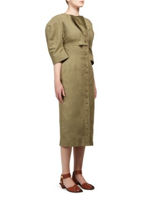 Kathy Round Shoulder Dress