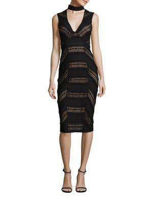 Kora Lace Choker Dress