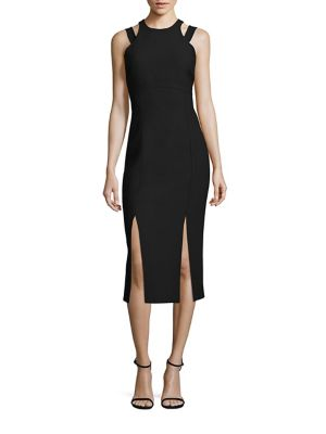 Henriette Shoulder Cutout Cleo Dress