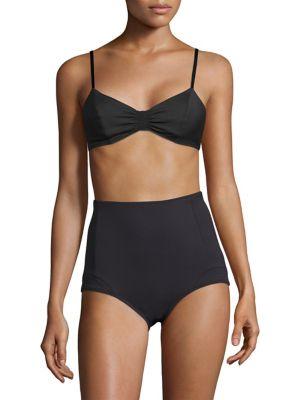 Juliette Shirred Bikini Top