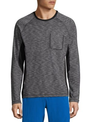 Performance Space Dye Pullover