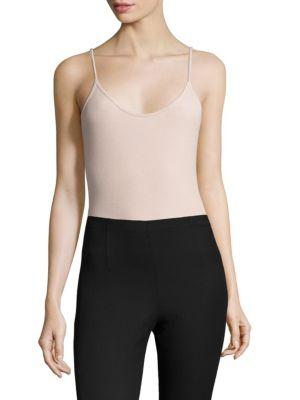 Rib-Knit Camisole Bodysuit by ATM Anthony Thomas Melillo
