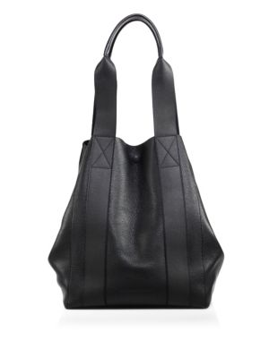 Bail Convertible Leather Tote