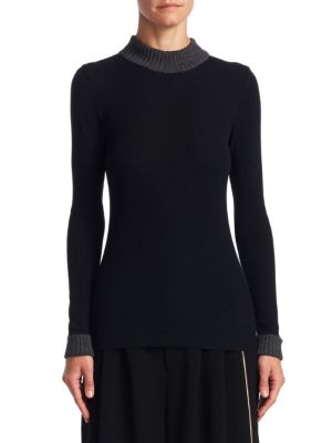 Wool Turtleneck Top by LOEWE