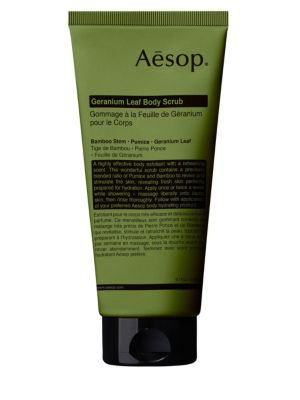 AESOP Geranium Leaf Body Scrub-5.7 oz.
