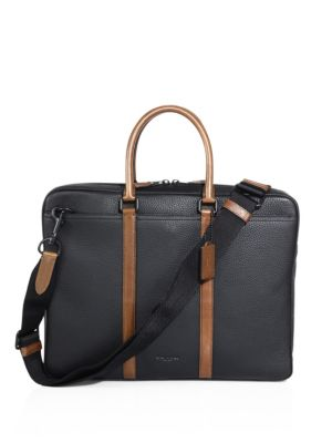 Metropolitan Pebbled Leather Briefcase