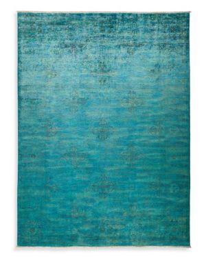 Overdyed Vibrance Wool Rug