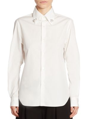 Pearl Button Front Shirt