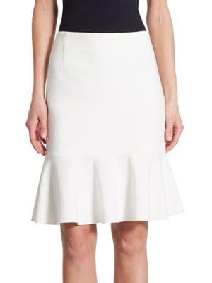 Akris Punto Flared Mini Skirt