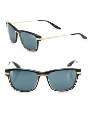 Rango 56MM Rectangle Sunglasses