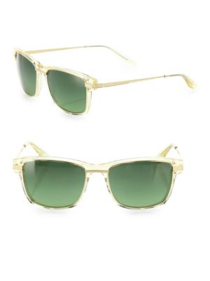 Rango Champagne 56MM Rectangular Sunglasses