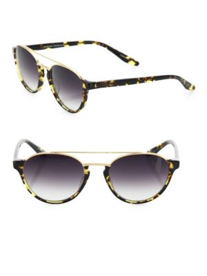 Boleyn Heroine 53MM Round Aviator Sunglasses