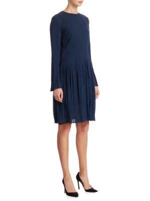 Silk Keyhole Dress
