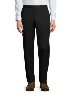 Slim-Fit Trop Wool Pants