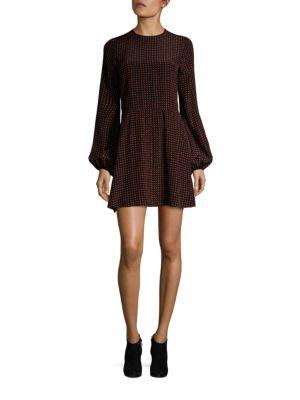 Dotted Silk Dress by Diane von Furstenberg