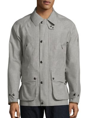 Garner Water-Resistant Wool Coat