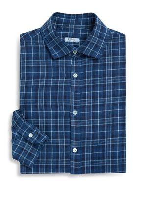 Textured Regular-Fit Dress Shirt
