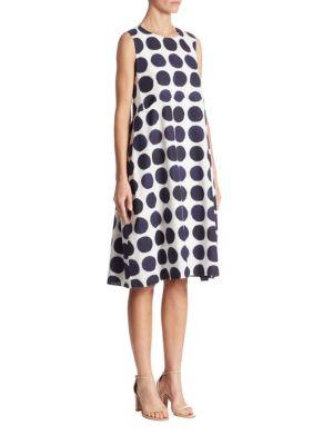 Adda Dot Printed Dress