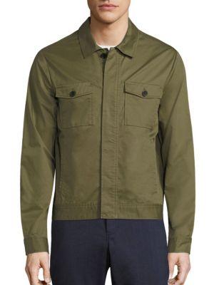 Pima Cotton Military Jacket