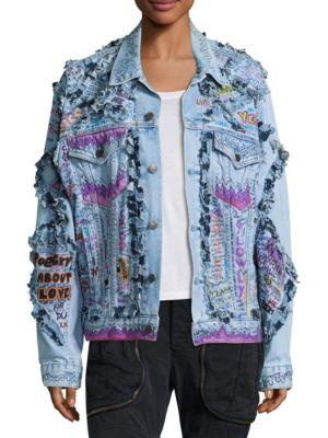 NTMB Embellished Denim Jacket