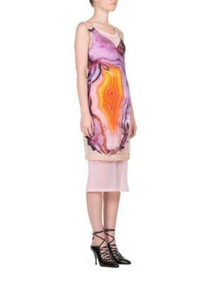 Geode Floral Dress