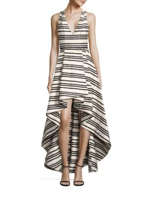 Buy Alice + Olivia Aveena Asymmetrical Gown online with Australia wide shipping