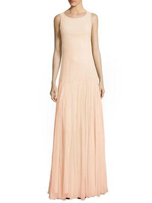 Saori Embellished Godet Gown