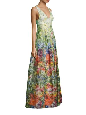 Buy Alice + Olivia Chantal Silk Blended Flare Gown online with Australia wide shipping