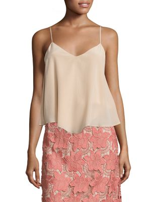 Emmeline Silk Camisole by Alice + Olivia