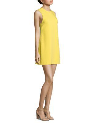 Coley Crewneck A-Line Dress