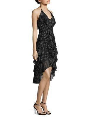 Lorilee Ruffle High-Low Dress
