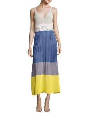 Knit Colorblock Dress