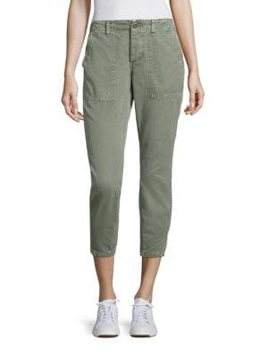 Army Twist Utility Cropped Pants by AMO