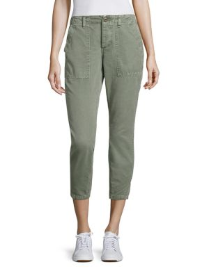 Army Twist Utility Cropped Pants