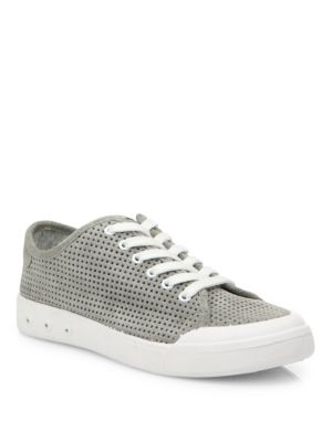 Standard Issue Perforated Leather Sneakers