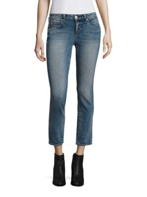 Kate Cropped Straight-Leg Jeans