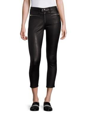 Ryder Leather Skinny Pants