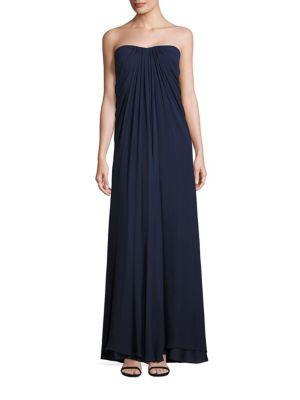 Silk Drape Gown