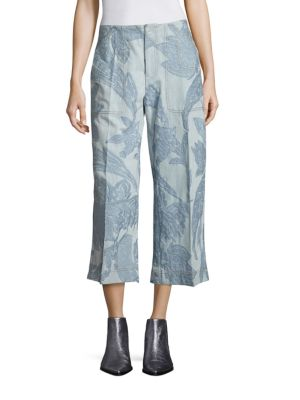 Texel Patterned Jeans