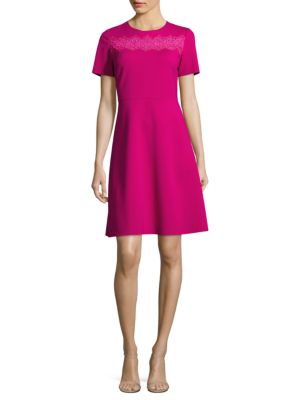 Buy Elie Tahari Fayla Short Sleeve Dress online with Australia wide shipping