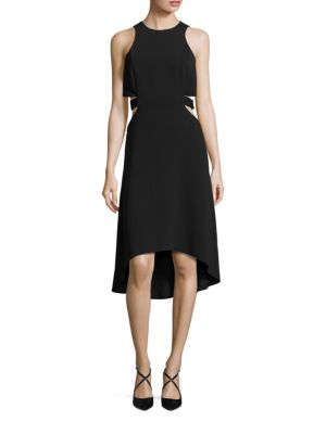Hi-Lo Cutout Dress