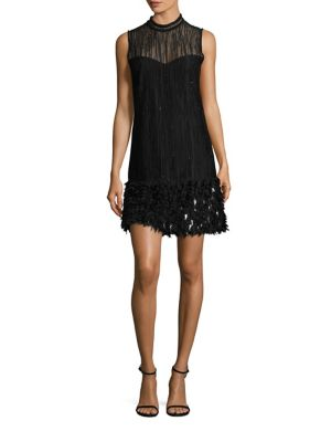 Mirage Feathered Dress
