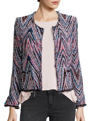 Zigzag Tweed Jacket