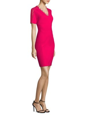 Ainsley Short Sleeved Sheath Dress