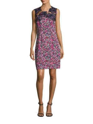 Blake Floral Sheath Dress