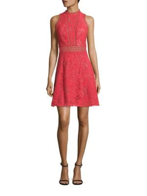 Arella Cutout Lace Dress
