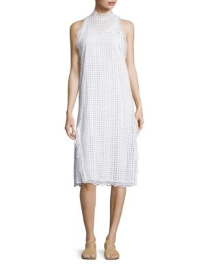 Vicki Cotton Eyelet Dress